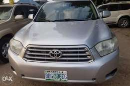 Registered 08 Toyota Highlander