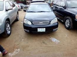 Clean and neat Toyota Corolla 2006