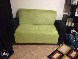 Lovely suede 2 seater couch