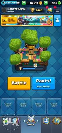 Clash royal account for sale