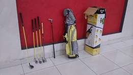 Junior Golf Kit Left Handed 63-43 Gold