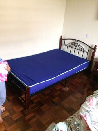 Bed for Sale with matress Woodly - image 3