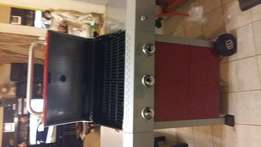 Brand new Terrace leisure Saturn 230 gas braai