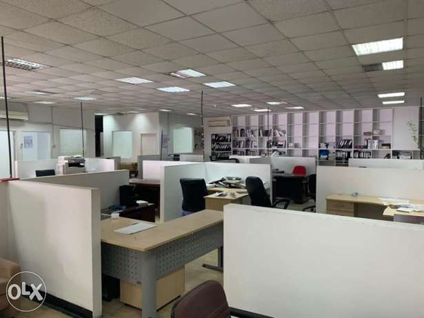 Big Ready Office For rent in Wadi Kabir Near OTE service center