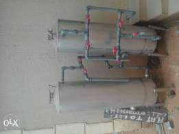 sand and carbon industrial filter for sale