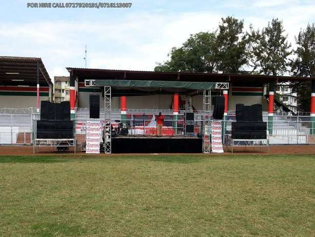 Public address, sound system,lights, led screens,stage & dj services Nairobi CBD - image 5