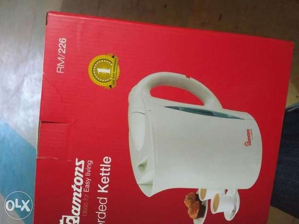 Brand new Ramtons Corded Kettle with one year warranty Thindigwa - image 1