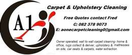 A1 Carpet & Upholstery Cleaning Services