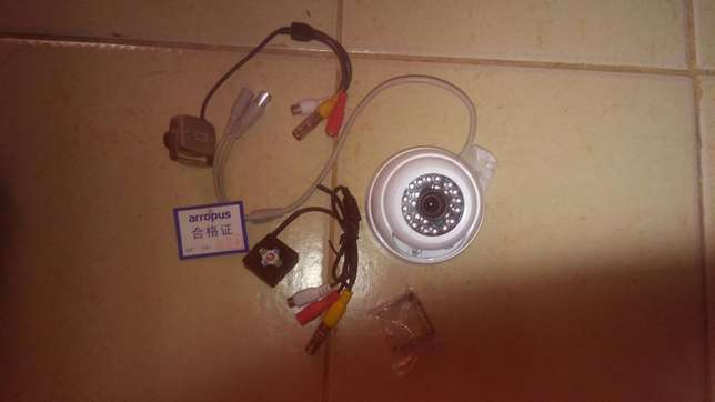 Sonny Cctv camera with cable and led light single and multi colour Nairobi CBD - image 1