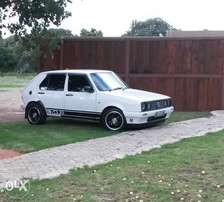 2008 mk1 Golf to swop and 30k for any bakkie