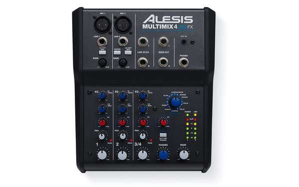 Alesis MULTIMIX 4 USB FX 4-Ch Mixer with Effects & USB Audio Interface Johannesburg - image 1