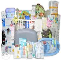 mom and baby hospital and home delivery pack