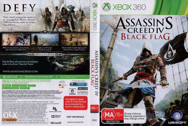 Used Assassin's Creed IV: Black Flag for Xbox 360 Nairobi CBD - image 1