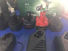 Bosch cordless drill chargers & batteries