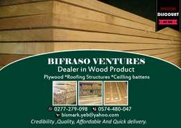 Timber products for construction: BiFraSo Ventures