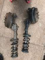 Toyota ST215 rear shocks and hubs