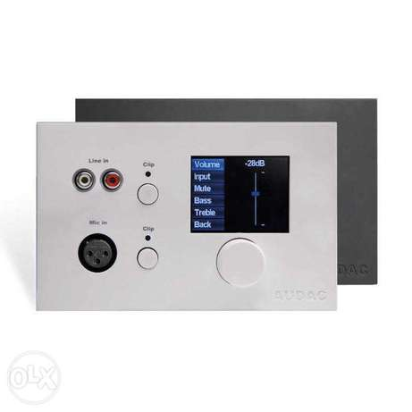 Audac MWX65 All-in-one Wall Panel for MTX - White