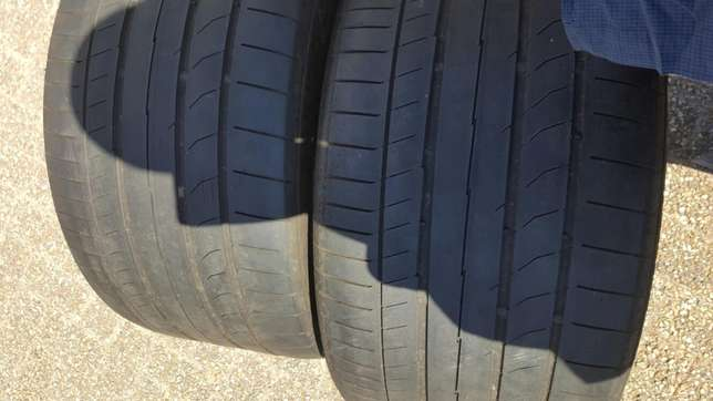 295/30/20 ×2 continental tyres Athlone - image 2