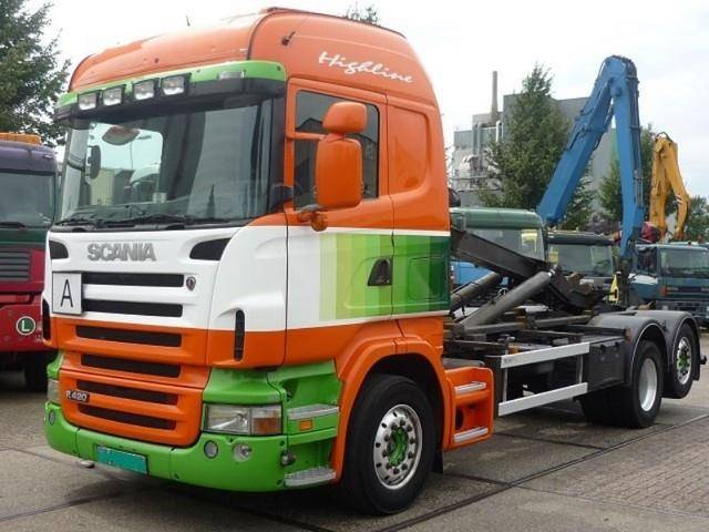 Scania R 420 6x2 Highliner Hooklift - 2006