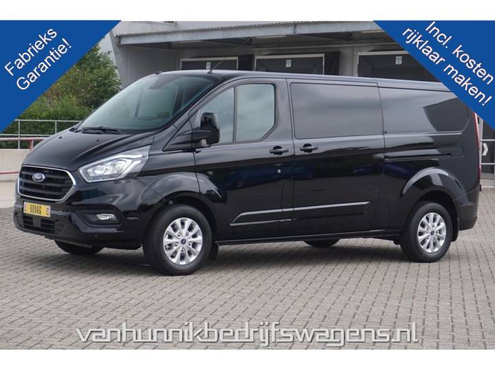 Ford Transit Custom 300L 170PK Limited Dubbel Cabine Automaat ... - 2019