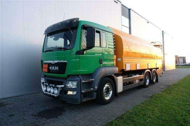 Man Tgs26480 Tank Truck Retarder Euro 5 2013 Te Koop Tradus