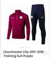 Brand new Manchester City tracksuit Purple
