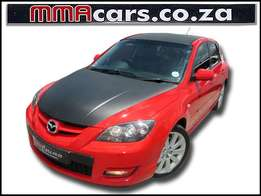 2009 MAZDA 3 2.3 DISI TURBO MPS R129,890.00
