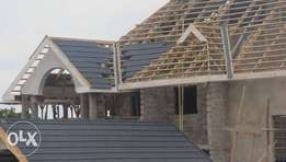 Genuine Stone coated roofing tiles