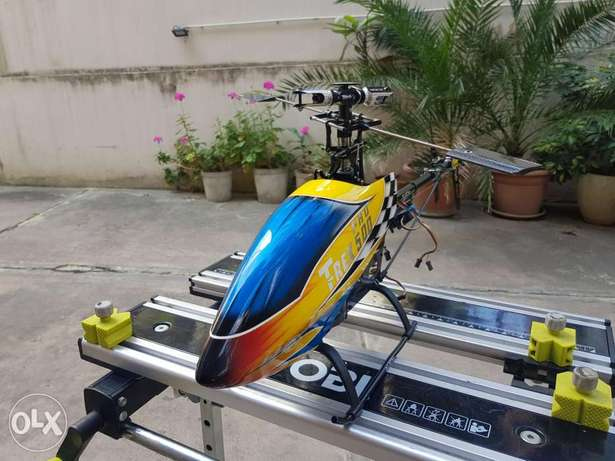 Helicopter 3d Trex 500 with gyro and servo