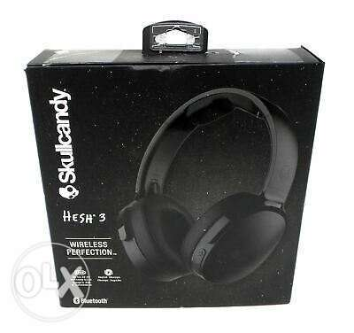 Skullcandy Hesh 3 Bluetooth Wireless Over-Ear Headphones with Mic.