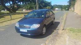 2003 model Toyota corrola
