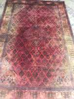 Large genuine wool hand knotted Thick pile Abadeh Persian carpet