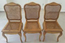Perfectly maintained dining room chairs