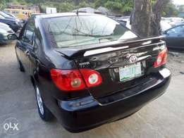 2006 Registered Toyota Corolla