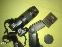 Canon 1100D DSLR with extras