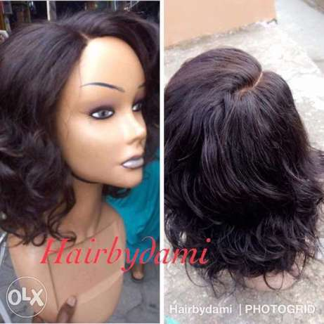 Braided wigs nd unprossed human hair Ikeja - image 8
