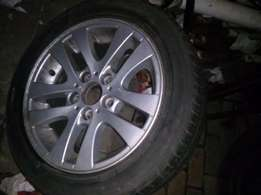 """Bmw 16"""" Mag + Tyre"""