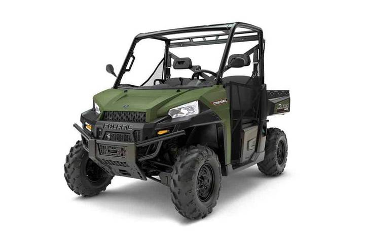 Polaris Ranger Diesel 1000 Eps Servostyring, 3 Cyl Diesel