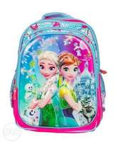Cartoon themed school bags