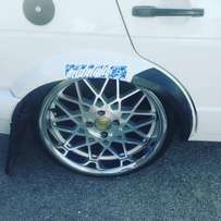 17inch Rotiform BLQ narrow & wides 100pcd X 4 elegant styling