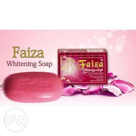 Best original 1000% results give faiza whitening soap and cream
