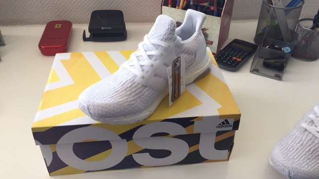 Adidas Ultra Boost 3.0 Triple while UK8 Sandton - image 2