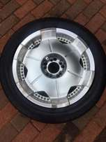 Gang R rims & tyres for Microbus