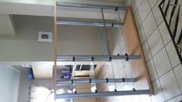 Wall unit stand