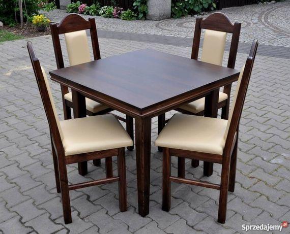 Komplet Stolik I 4 Krzesła Tanio I Solidnie Do Baru