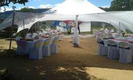 Non Water Proof Stretch Tent For Hire 6 x 12 meters