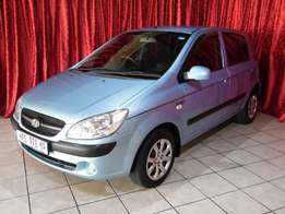 2010 Hyundai Getz 1.4 Hi Spec with full service history