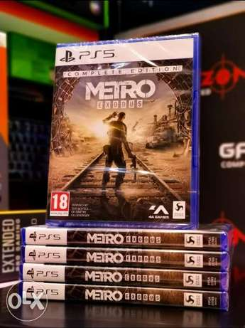 Metro Exodus Ps5 Game Available Now