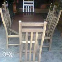A set of dinner table