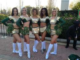Poms for Cheerleaders in South Africa